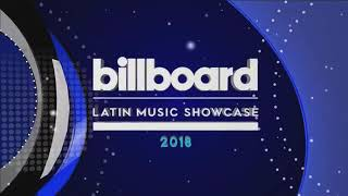 CD9. Billboard Latín Music Showcase México 2018