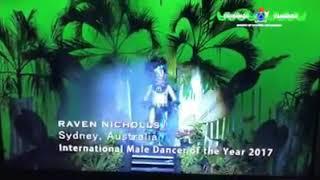 Raven Nicholls Cook Islands INTERNATIONAL Dancer of the year 2017. Finding nemo