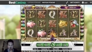 Piggy Riches bonus with insane 300kr per spin