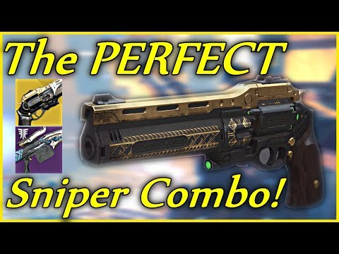 The Last Word Is The Perfect Sniping Combo! (Destiny 2 - Last Word Exotic Hand Cannon)