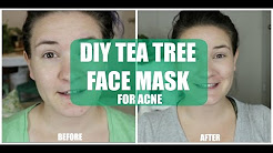 hqdefault - Tea Tree Oil Acne Facial Mask