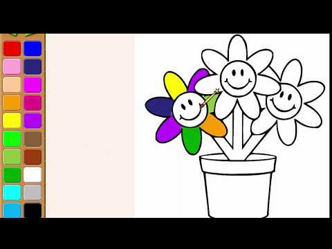coloring-flowers-[-page-is-for-children