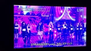 「STRAWBERRY サディスティック」E-girls 2016/7/2 THE MUSIC DAY.