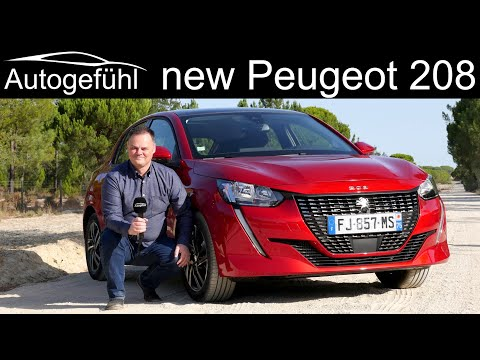 all-new Peugeot 208 FULL REVIEW petrol vs diesel vs electric e-208 comparison - Autogefühl