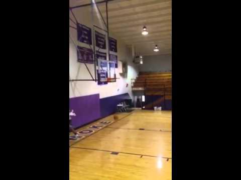 Michael Dunking! Lonoke high School!