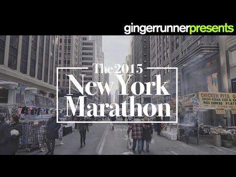 THE 2015 NEW YORK CITY MARATHON (60fps) | The Ginger Runner