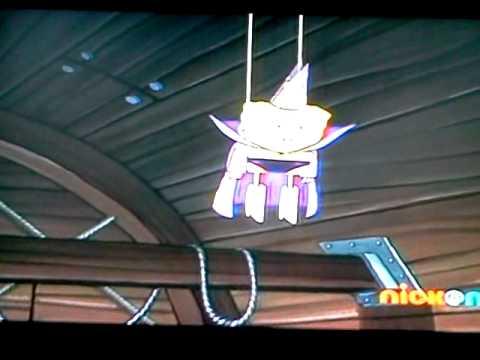 spongebob stuck on the roof dance