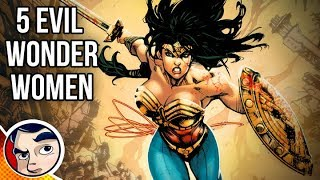 top 5 evil versions of wonder woman in the dc multiverse ft fancy teeth