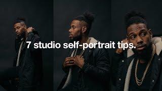 7 studio self-portrait tips. screenshot 2