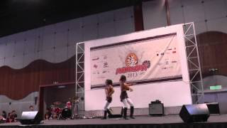 Animangaki 2013 Duet Cosplay Skit FINALS [3rd place]: Shingeki no Kyojin ~ Ymir & Hanji