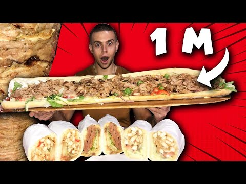 kebab-À-la-franÇaise-100%-maison-de-1m-de-long-!!