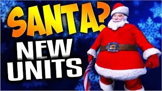 UEBS - Santa Claus, Table, and Dresser New Units Update! - Ultimate Epic Battle Simulator Gameplay