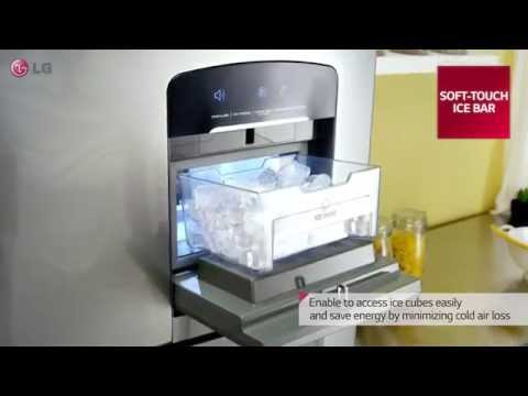 LG 2014 Refrigerator Top Freezer with water dispenser