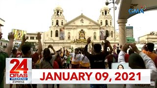 24 Oras Weekend Express: January 9, 2021 [HD]
