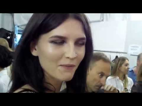 Edward Aydin interview Catlan @ Roberto Cavalli SS2015 Milan