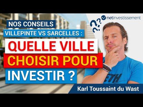 Match immobilier : Villepinte VS Sarcelles