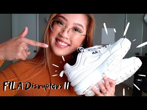 FILA DISRUPTORS II REVIEW | Nancy Hui