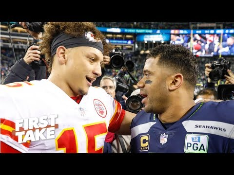 Patrick Mahomes isn't a lock for MVP with Russell Wilson around – Stephen A. | First Take