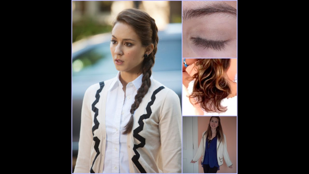 Pll Spencer Hastings Makeup Hair Outfit Youtube