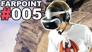 AM ABGRUND 🐲 Let's Play Farpoint VR #005 [Facecam/Deutsch]