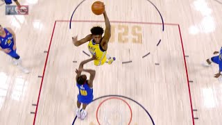 James Wiseman Skies Bol Bol For Unreal One-Handed Dunk