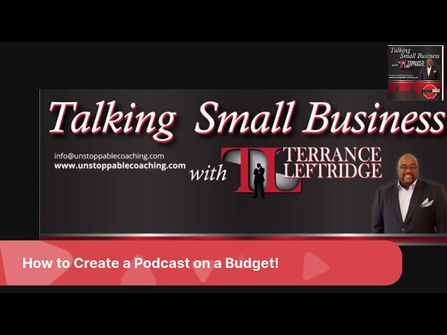 How to Create a PODCAST on a Budget!