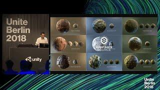 Unite Berlin 2018 - Virtual PBR Materials with Substance thumbnail