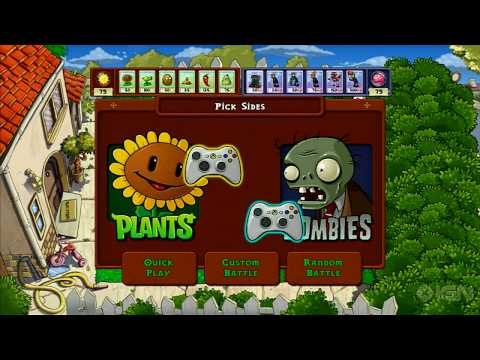 Plants vs. Zombies Xbox 360 Trailer
