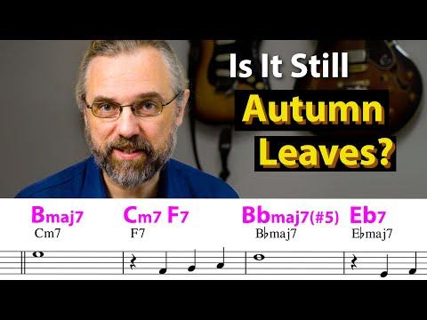 Autumn Leaves Reharmonization - How To Make It Sound Fresh