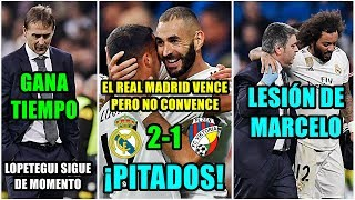 EL REAL MADRID VENCE AL VIKTORIA PLZEN (2-1) PERO ES PITADO | LOPETEGUI SIGUE | LESIÓN MARCELO
