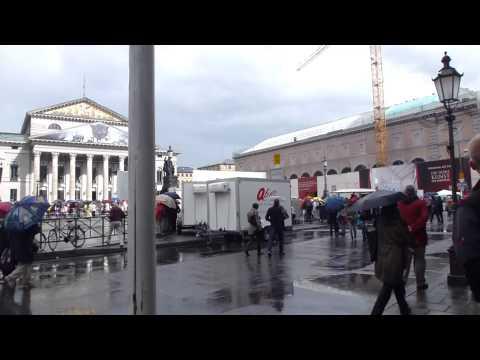Open air opera festival in Munich