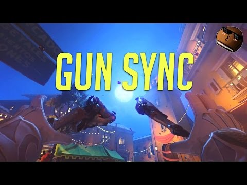 OVERWATCH GUN SYNC #1 - All Alone (MUST WATCH)