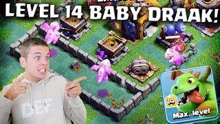 SPELEN MET LEVEL 14 BABY DRAKEN!! CLASH OF CLANS NEDERLANDS