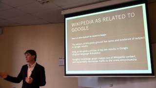 Lecture: Wikipedia as a Cultural Reference - part 3