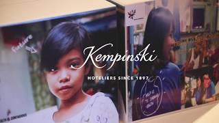 Kempinski Hotels - BE Health silent auction in Bangkok