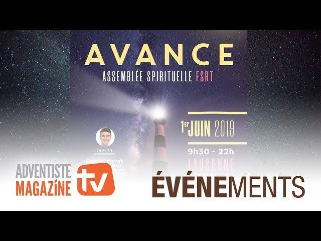 Rendez-vous à Lausanne pour l'assemblée spirituelle FSRT 2019 !