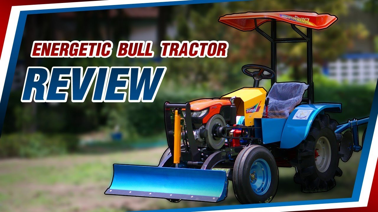 ENERGETIC BULL Riding Tractor Review