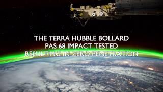 Frontier Pitts PAS 68 HVM Terra Hubble (Quantum) Bollard crash test
