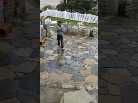 I do patios retaining walls driveway and sidewalk and much more