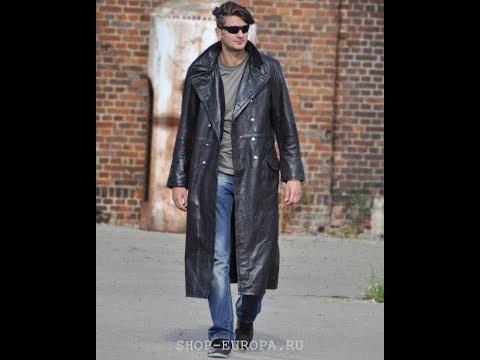 Офицерское кожаное пальто - Miltec арт.10190002