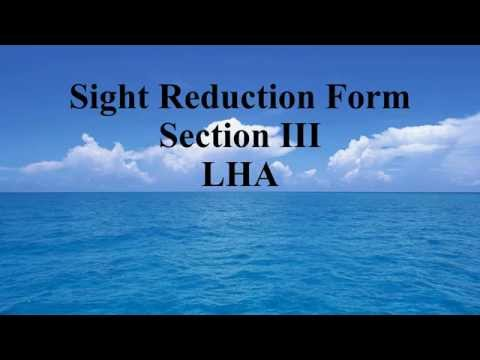 Section III, 9 - LHA