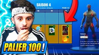 "I buy ALL THE ""SAISON 4"" of combat PASSE on FORTNITE! (SECRET UNLOCKED)"