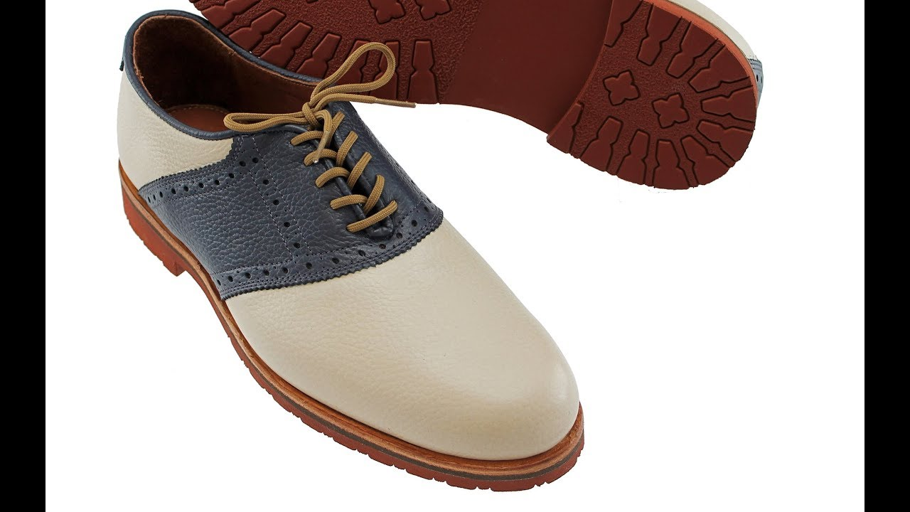 9107724fd7d0 The David Oxford Saddle Shoe - Full Review - YouTube