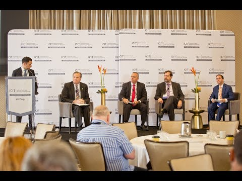 2017 ICIT Forum: Rise of the Machines: IoT/Supply Chain- D. Soulules, R. Cloutier,