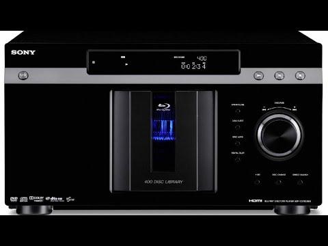 Sony BDP-CX7000ES 400 Disc Blu-Ray DVD Changer