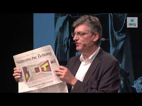 re:publica 2013 - Lothar Müller: Das Blatt und das Netz. on YouTube