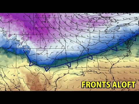 NIGHTLY WEATHER - Wednesday 12/7/2016 - Upper level fronts