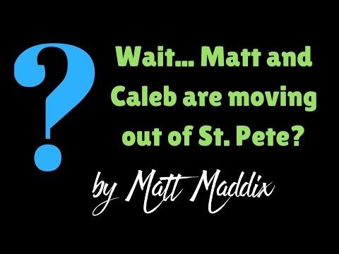 Matt and Caleb Leaving St Petersburg