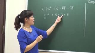 Ôn luyện môn toán cơ bản 7 - Ôn tập học kỳ 1 ( tiết 1) - Cô Bùi Thanh Bình