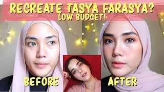 RECREATE TASYA FARASYA | NO SKILL + LOW BUDGET | Tutorial Makeup Pemula | raniekarlina